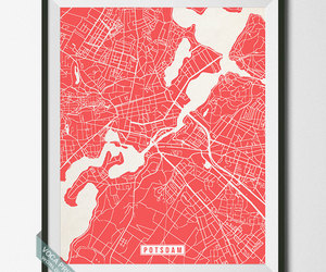 etsy, room decor, and map print image