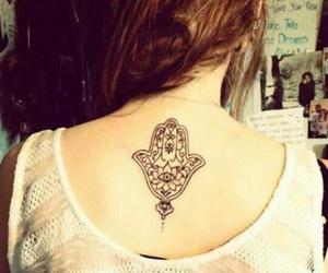 Chica, mandala, and tatuaje image