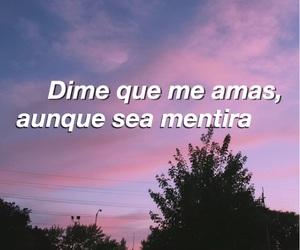 frase, Lyrics, and spanish image