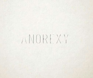 white and anorexy image
