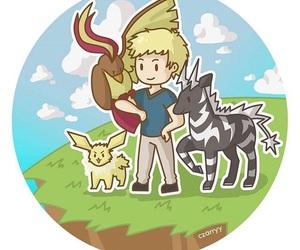pokemon and jason grace image