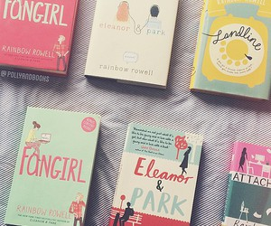 books, landline, and fangirl image