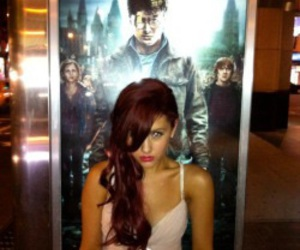 ariana grande and harry potter image