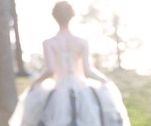 dress, magical, and fairytale image