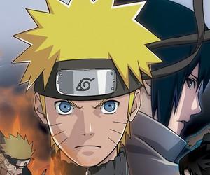 naruto, naruto shippuuden, and sasuke image