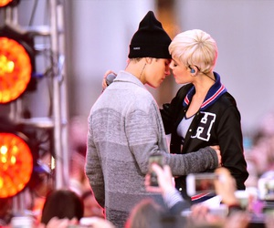 justin bieber, badlands, and halsey image