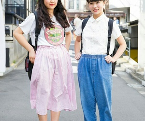 fashion, Harajuku, and japan image