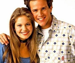 dj, candace cameron, and fuller house image