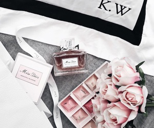 Couture, dior, and flowers image