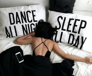 bedroom, dance, and girl image
