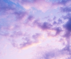 clouds, indie, and lilac image