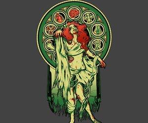 zombie gilr image