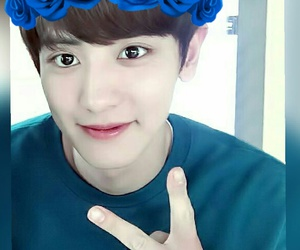 exo, chanyeol, and cute image