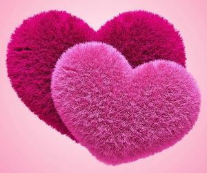 hearts, love, and pink image