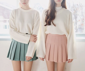 beautiful, knit, and outfit image
