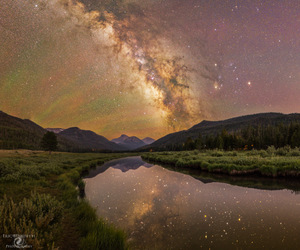 astronomy, galaxy, and milky way image