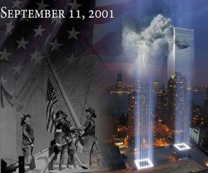 angels, nypd, and twin towers image
