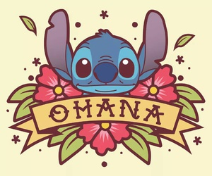 ohana, disney, and stitch image