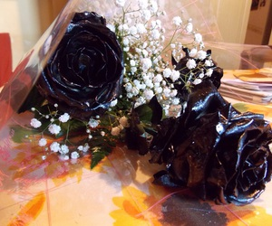 roses and black roses image