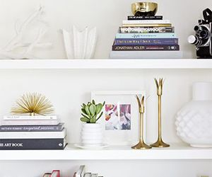 decor, home, and shelves image