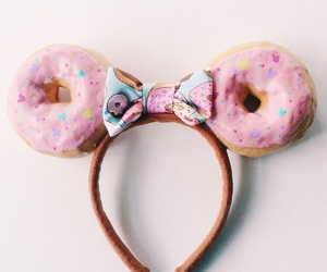 donut, pink, and cute image