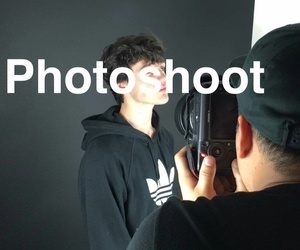 photoshoot, aaron carpenter, and aaron image