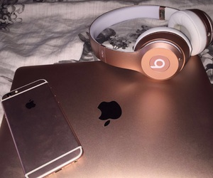 beats, Dream, and rose-gold image
