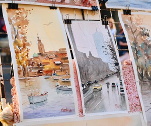 painting, pictures, and watercolor image