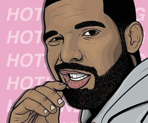 Drake and hotline bling image