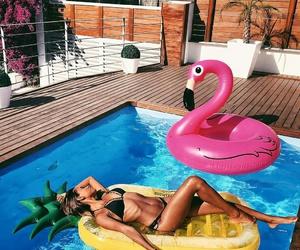 bikini, peaceful, and travel image