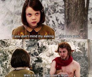 georgie henley, james mcavoy, and Lucy image