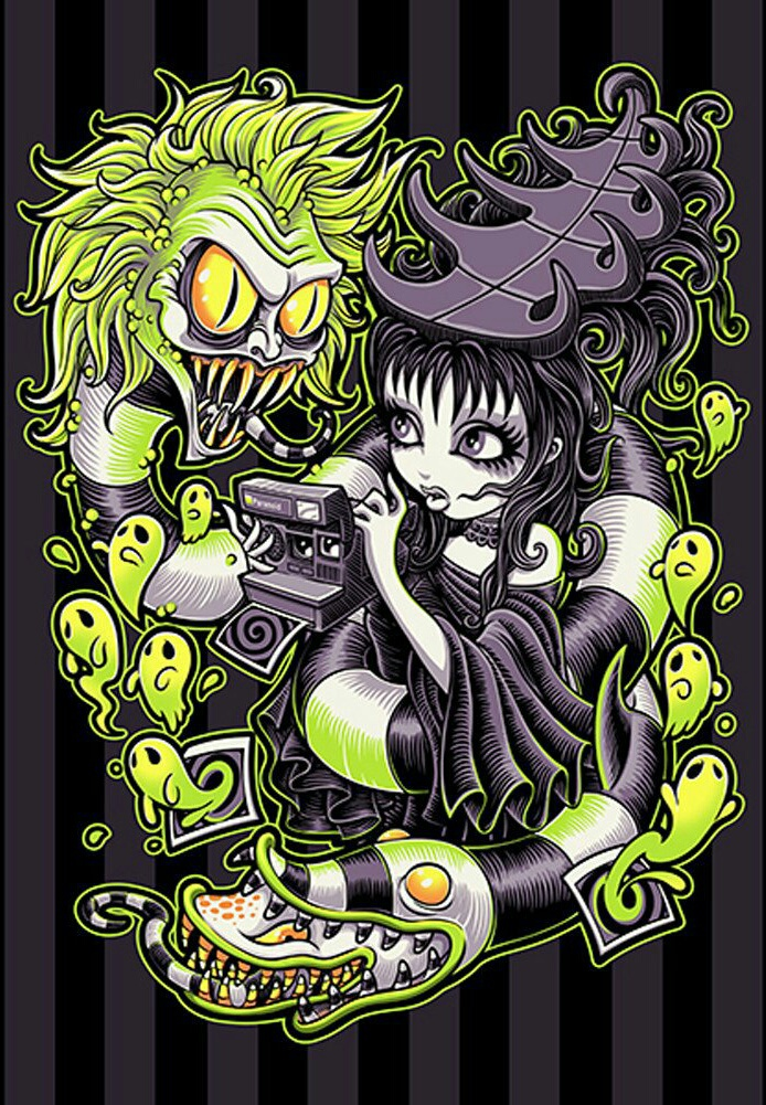 Image About Wallpaper In Beetlejuice By Julissa Parra