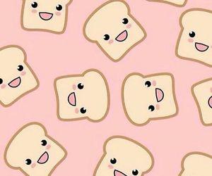 wallpaper, kawaii, and toast image