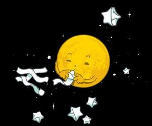 stars and moon image