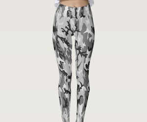 camouflage, fashion, and gray image