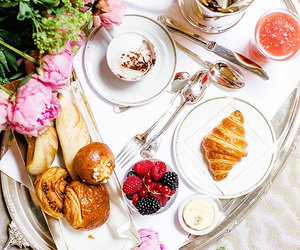 breakfast, coffee, and meal image