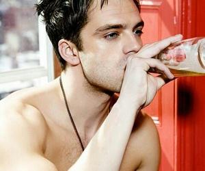 drink and sebastian stan image