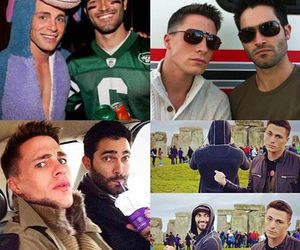 teen wolf, colton haynes, and tyler hoechlin image