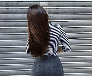 girl, body, and hair image