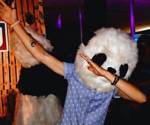 dab and panda image