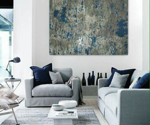 home, art, and decor image