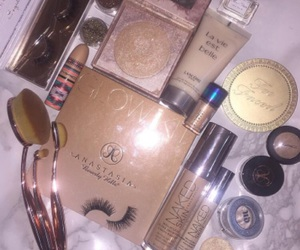 Brushes, cosmetics, and goals image