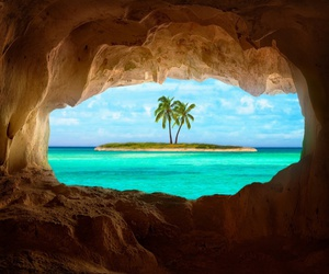 beach, lovely, and paisajes image