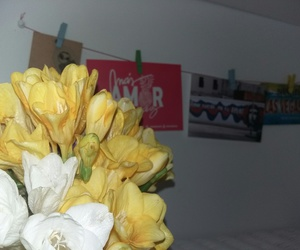 flowers, pictures, and yellow image