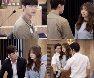 kdrama, lee jong suk, and w two worlds image