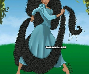 disney and hair image