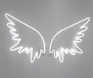 aesthetic, white, and wings image