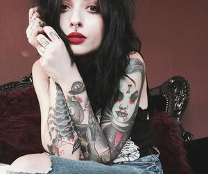 beauty and tattoo image