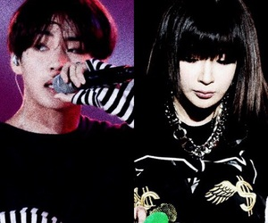 taebom, 2ne1 bts, and vbom image