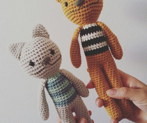 amigurumi, cat, and gato image